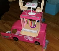 Barbie camper discontinued from last year model 406 mi