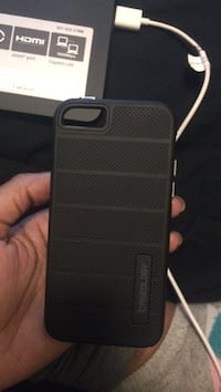 black Caseology iPhone 5s case