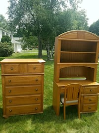 Matching Chest/Desk with Chair Akron, 44303