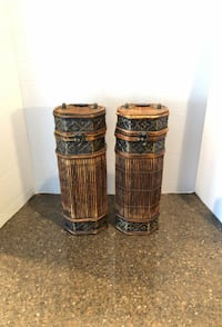 2 14 inch decorative storage boxes $10 do both Manassas