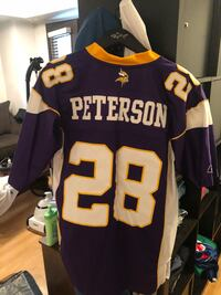 Vintage Adrian Peterson jersey. Authentic. Small length plus 2 Toronto, M6K 3P1