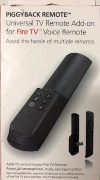 Mission TV Remote Add-on for Amazon Fire TV Voice Remote Control your TV Clarksville