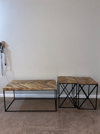 COFFEE TABLE/TWO SIDE TABLES Charleston, 29414
