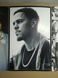 J Cole poster 3'x2' St. Catharines, L2R 3M2
