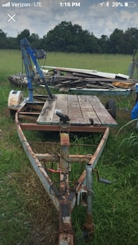 brown and black utility trailer Raceland, 70394