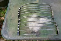 Stainless steel headlight covers 2005 Dodge ram probly other Virginia Beach, 23452