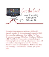 Cable Services New York