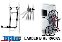Brand new Topline ladder bike rack, multi-use, only $14.00  Meridian