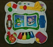 Leap frog activity table.