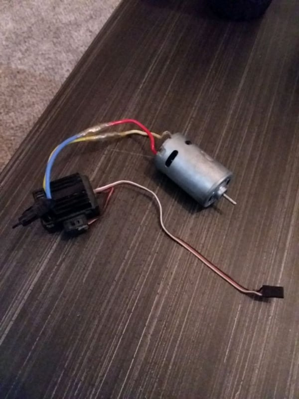 Traxxas 1/10 brushed motor  1