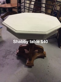 white and brown wooden table Hamilton, L8V 1B3