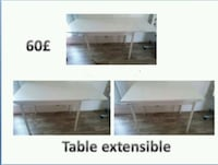 Table extensible Aubervilliers, 93300