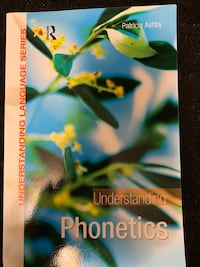 Introduction to Phonology TEXTBOOK NO MARKINGS Toronto, M5K 2A1