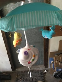 Baby mobile with remote, sounds and lights Ipswich