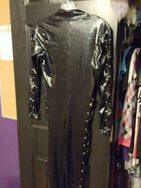 Full lace up catsuit, great for halloween