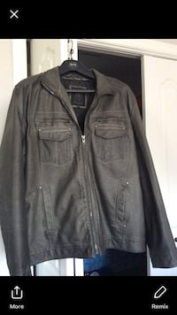 New sports leather jacket size Large  Laval, H7X 3M8