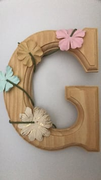 Wooden letters- baby shower Houston, 77054