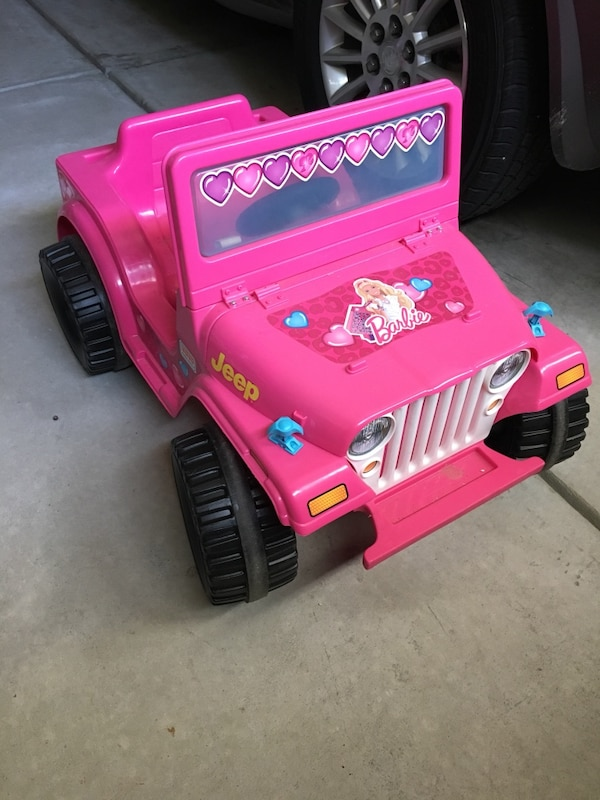 Pink Jeep Wrangler >> Toddler S Pink Jeep Wrangler Battery Powered Ride On Toy