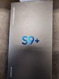 SAMSUNG S9 PLUS + brand new with receipt Vancouver, V6A 2T7