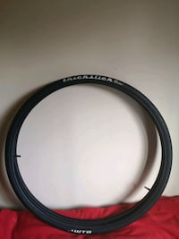 700c thickslick tire set with tubes