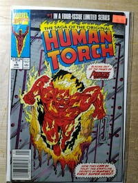 Saga of The Original Human Torch (9.4) NM Upper Marlboro, 20774