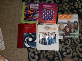 SSW textbooks.  In good condition looking for $80 obo for the lot
