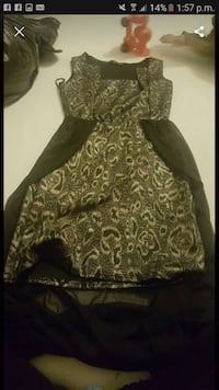 brown and black leopard print sleeveless dress Greater Manchester, BL8 1UR