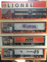 Lionel Tractor Trailers