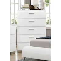 Coaster Company Felicity Collection Chest, White, SKU# 47058 Tustin