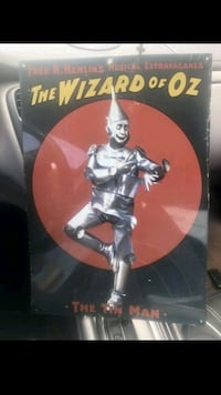 Wizard of Oz metal movie poster Tucker, 30084