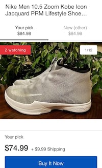 Pair of gray nike basketball shoes Palmdale, 93550