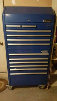 blue and gray tool cabinet Westminster, 21158