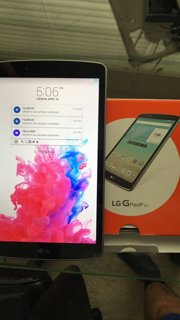 how to download fromsdhc disc to lg gpad 3