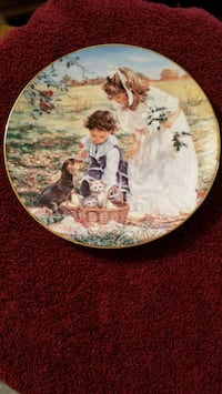 Antique collectible limited edition plate 255 mi