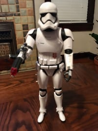 """Star Wars Stormtrooper Talking and sound effects 14"""" Inch Figure"""