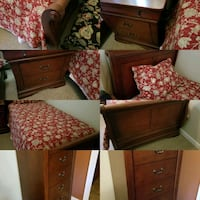 Twin, sleigh bed set. Stephens City, 22655