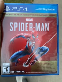 Ps4 spiderman goty(dlc included) Vancouver, V5R