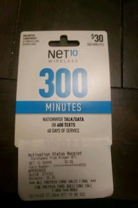 Net 10 minutes card Westerville, 43081