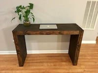 "Handcrafted 48"" Personal Desk  New Orleans"