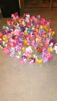 assorted characters My Little Pony plastic figures Thornton, 80229
