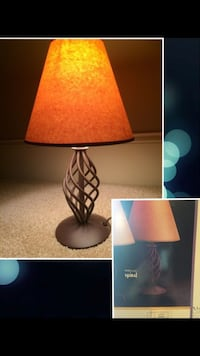"""16""""Spiral Table Lamp-Stainless steel Stand  (Lot or Retail)"""