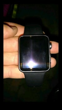 black Apple Watch with black sports band Bakersfield, 93305