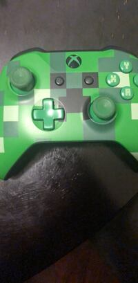 green and black Xbox One controller Los Angeles, 91405