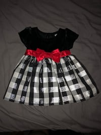 black and white plaid dress Kirby, 78219