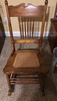 Refinished antique cane rocking chair New Bern, 28562