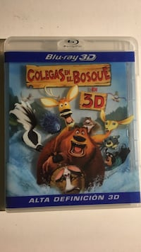 Blu-Ray 3D Colegas En El Bosque Madrid, 28014