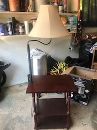 Lamp with multi level end table Woburn, 01801