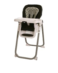 Graco High Chair, Black/White Houston, 77063