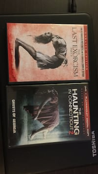 The haunting in connecticut 2 dvd; the last exorcism part 2 movies