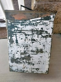 Steel military box 16 inches high Lancaster, 93536